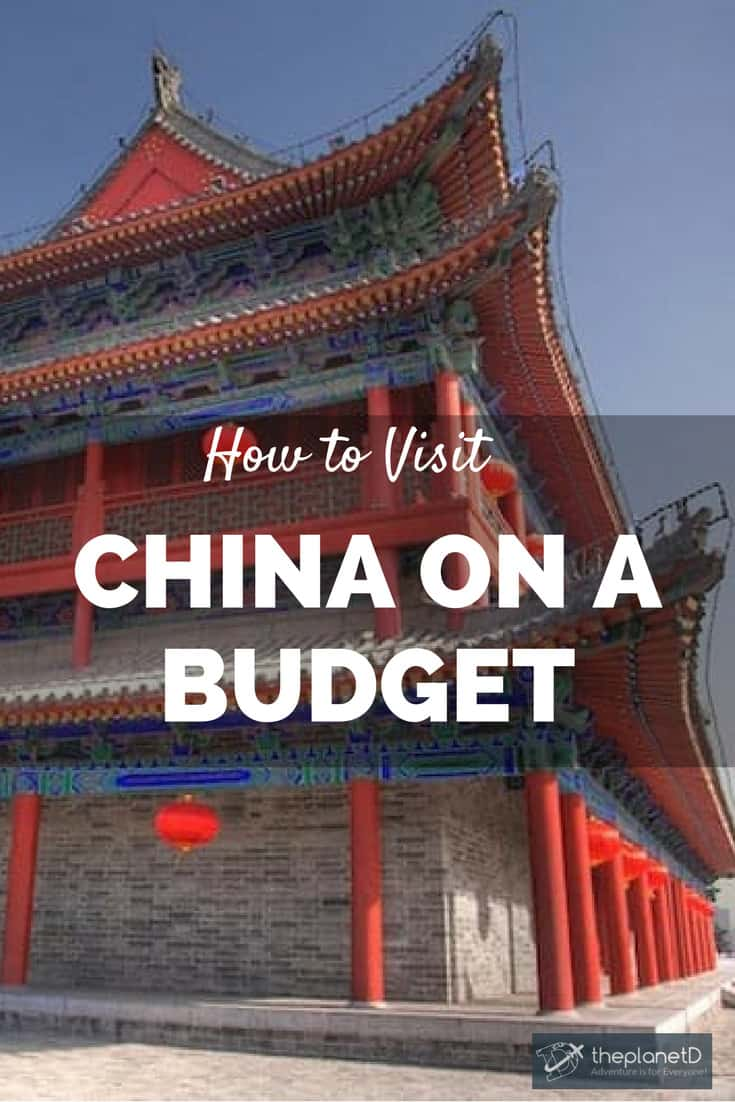 how to travel china on a budget