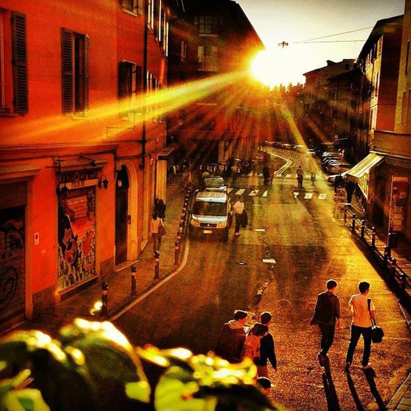 visit emilia romagna sunset