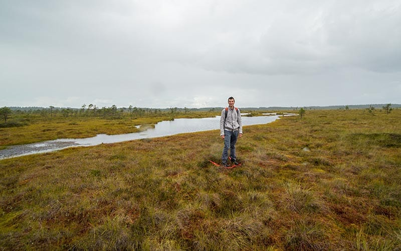 bog walking estonia