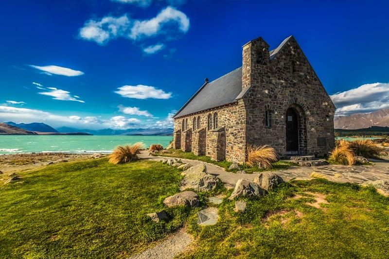 visit new zealand church