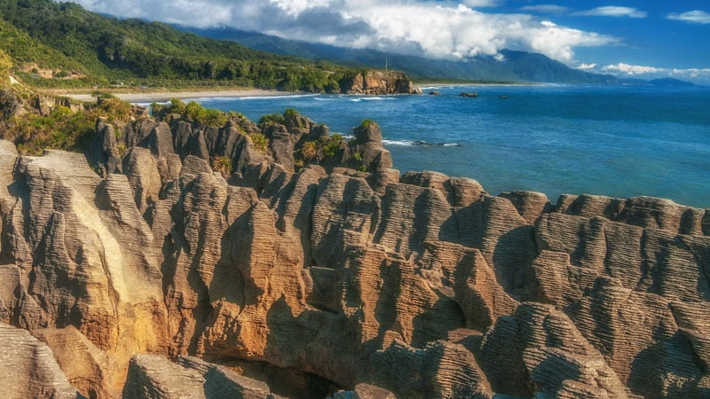 what to see in new zealand pancake rocks