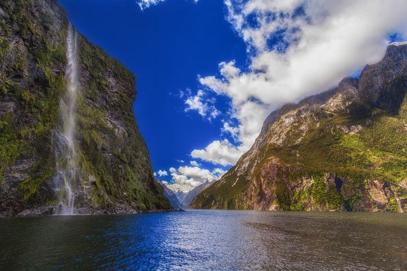 visit new zealand waterfall