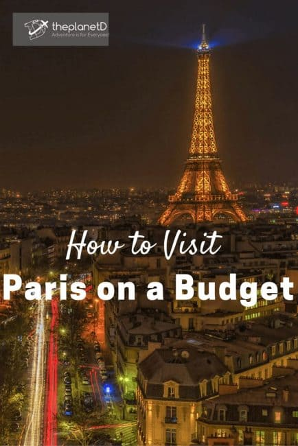 how visit paris on a budget