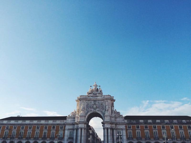 visit portugal building