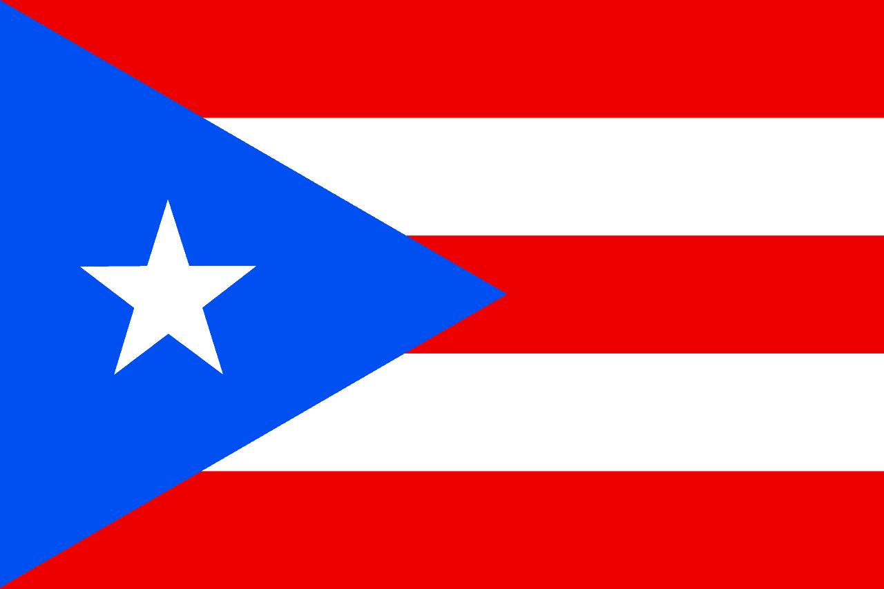 Visit puerto rico flag