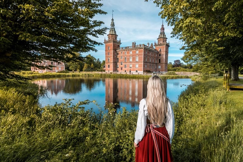 photos of sweden Marsvinsholm castle