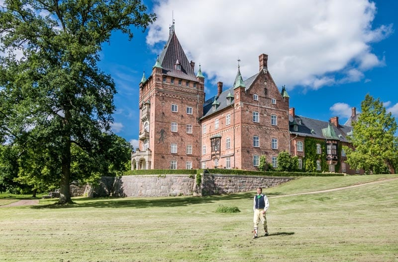 swedish photography Trollenäs castle