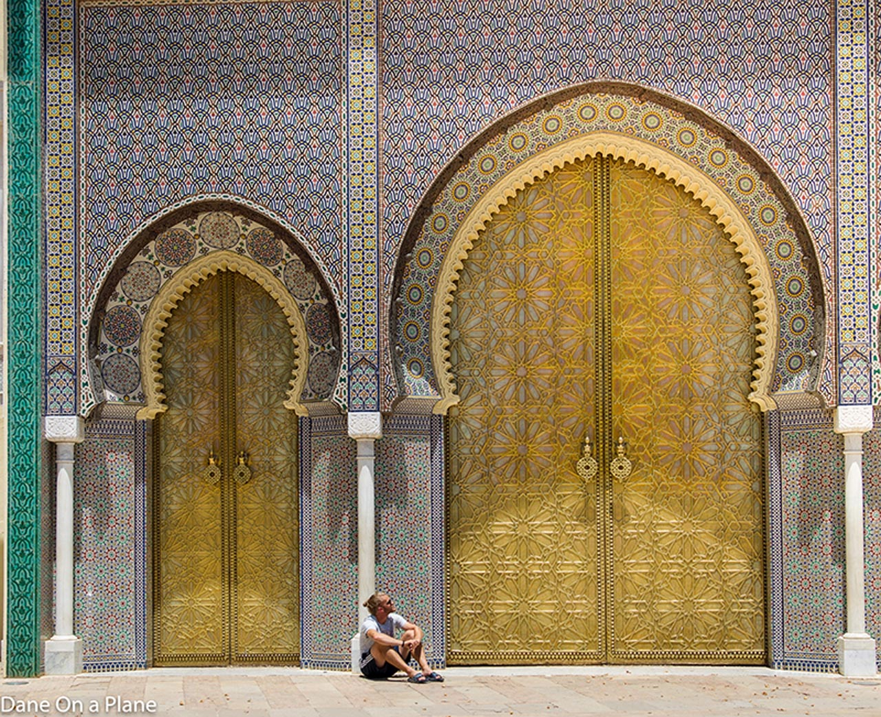 morocco in photos | people doors