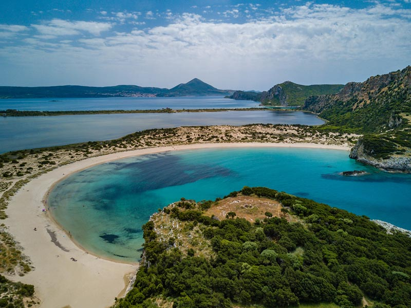 costa navarino voidokilia beach