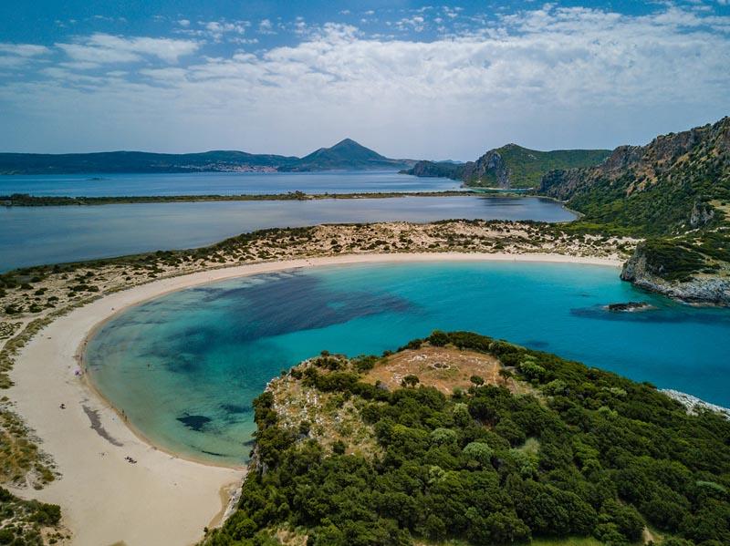 costa navarino voidokilia beach