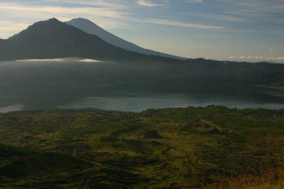 Gunung Batur and the crater lake, Bali