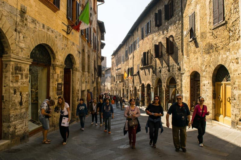 tuscany tours streets of florence