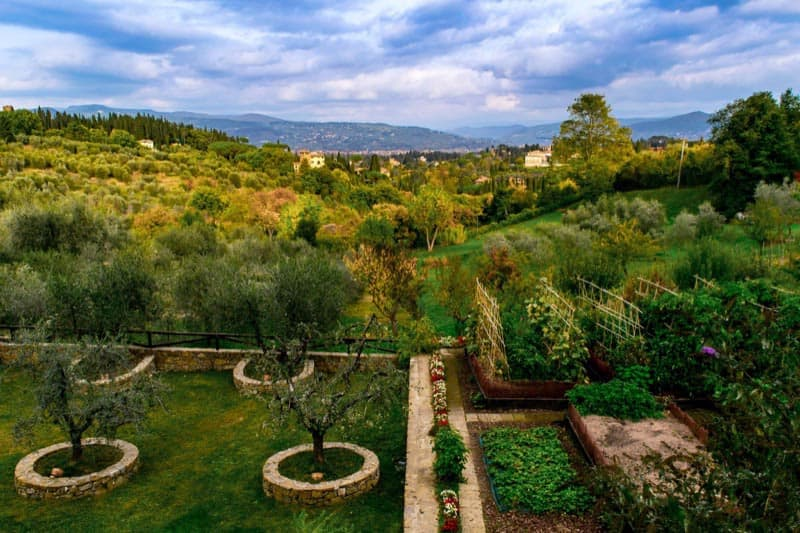 tuscany tours cooking class view