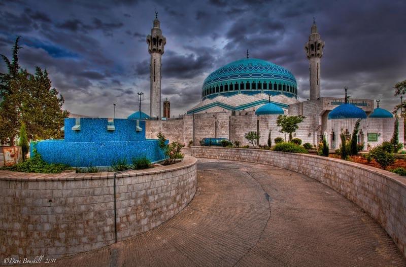tour amman jordan the blue mosque