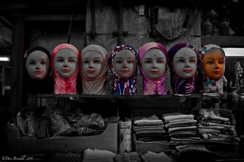 amman city tour head scarves