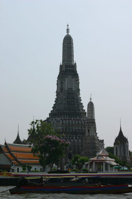 Wat Arun on the Chao Praya River in thailand