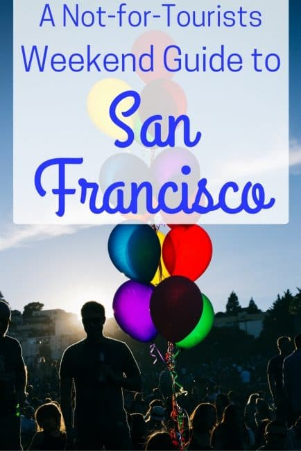 weekend guide to San Francisco