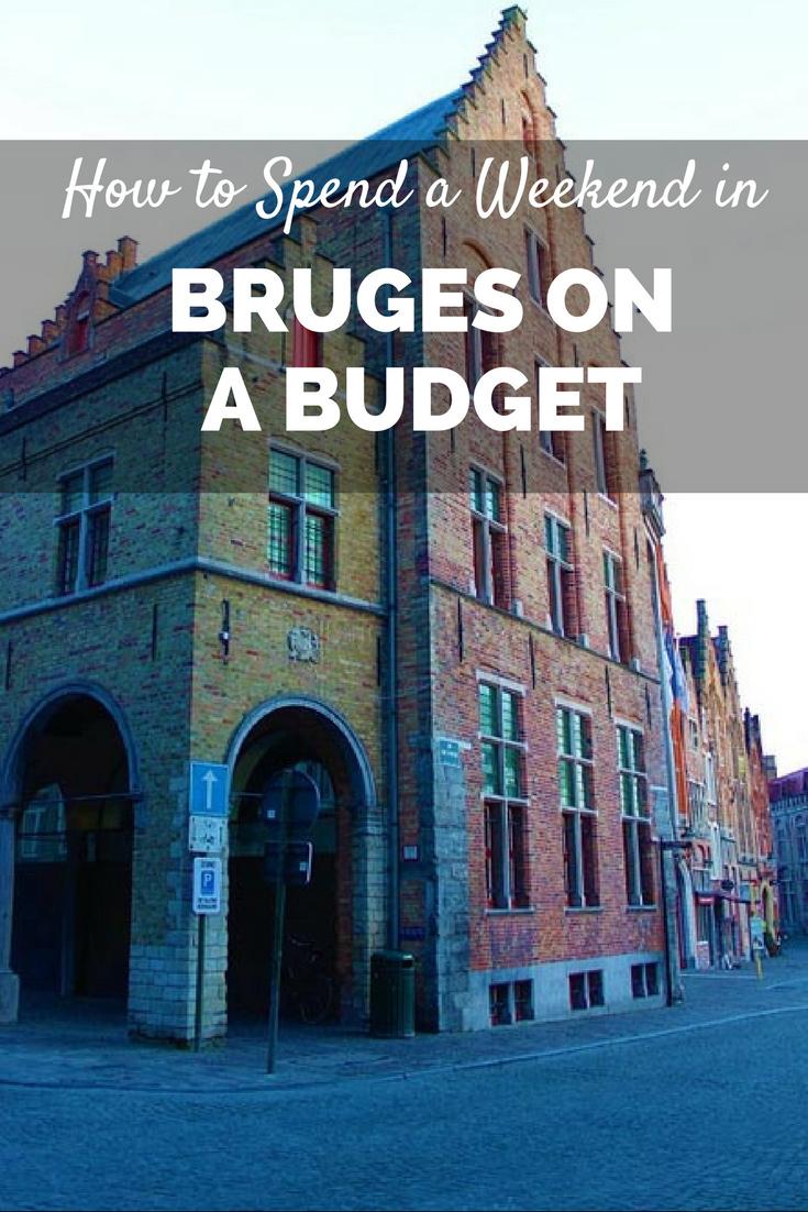 visit bruges on a budget