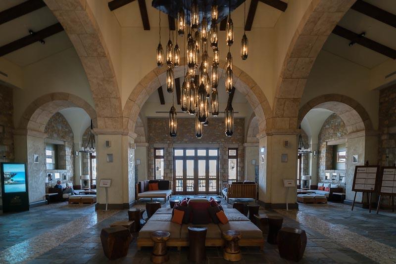 westin costa navarino resort lobby