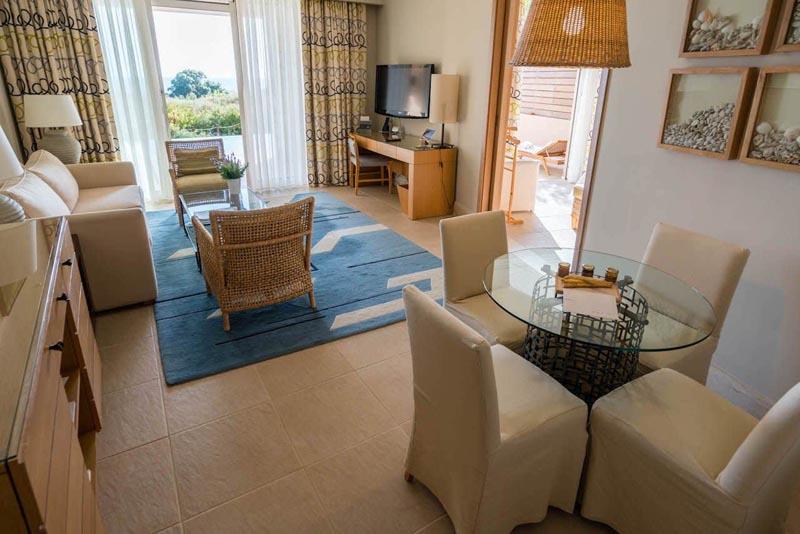 costa navarino westin resort suite interior