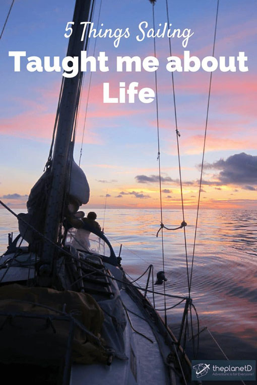 what sailing taught me pin
