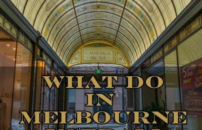 things to do in Melbourne Australia