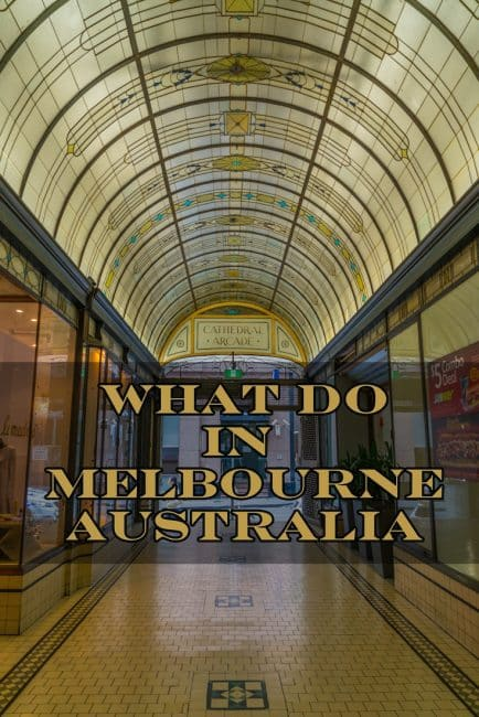 what to do in Melbourne content