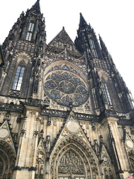 what to do in Prague - St Vitus Cathedral