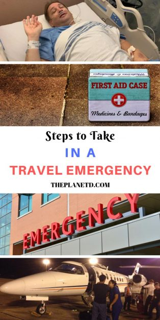 what to do in a travel emergency