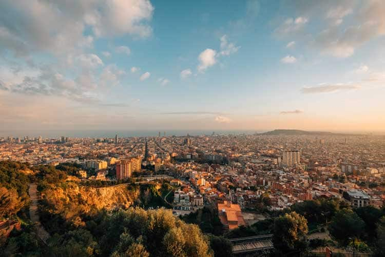 things to do in barcelona at night | bunkers del carmel