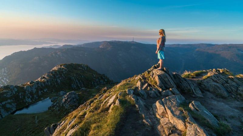 bergen attractions mount urliken