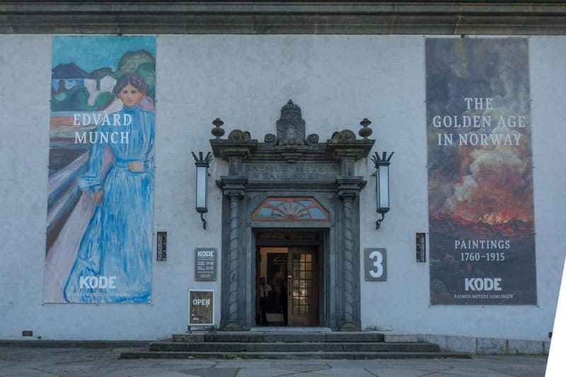 what to do in bergen edvard munch