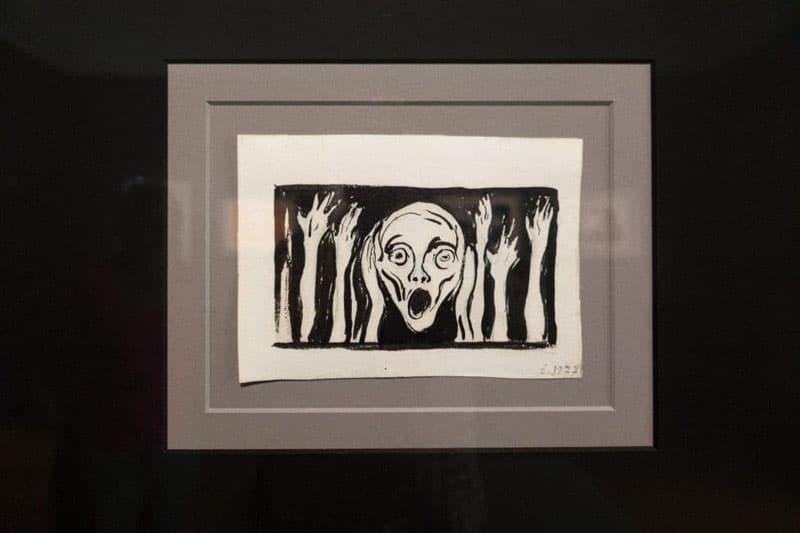 bergen edvard painting the scream