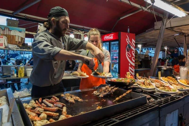 fish market bergen norway