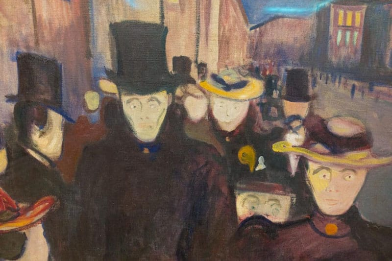what to see in bergen munch