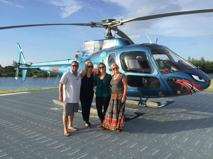 what to do in cayman islands helicopter tour