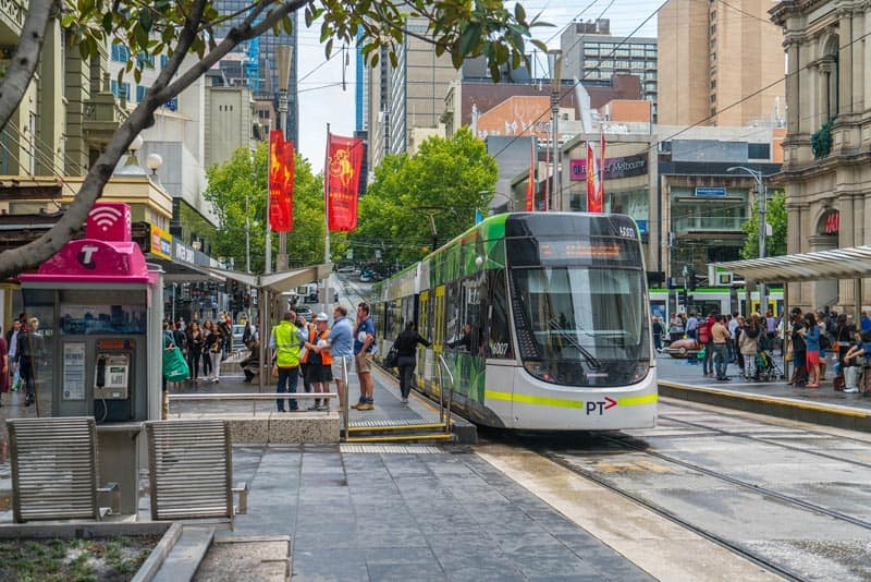 melbourne's free tram