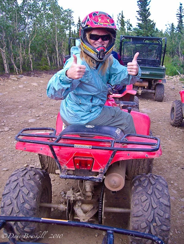 alaskan cruise packing tips atv tour