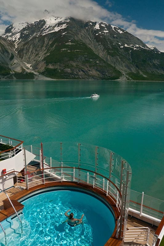 tips to pack for an alaskan cruise ship swimming pool