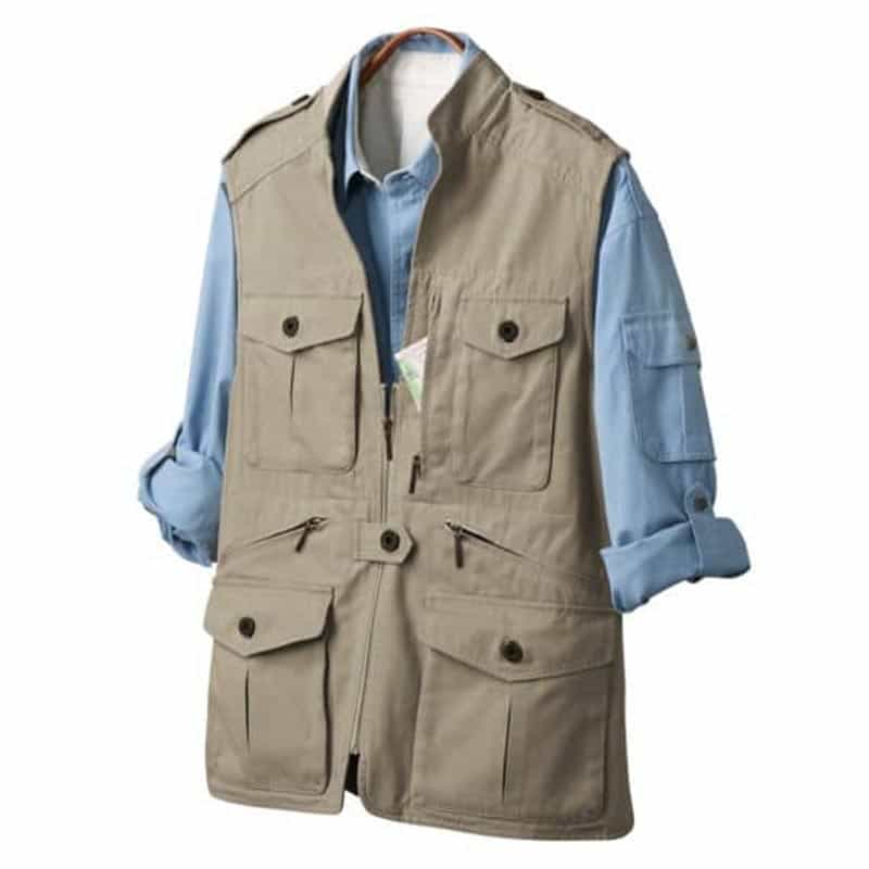 what to wear a safari vest