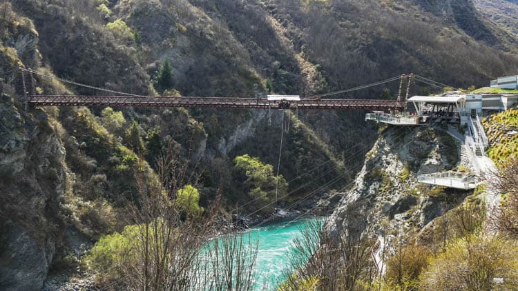 places to go bungee jumping in new zealand