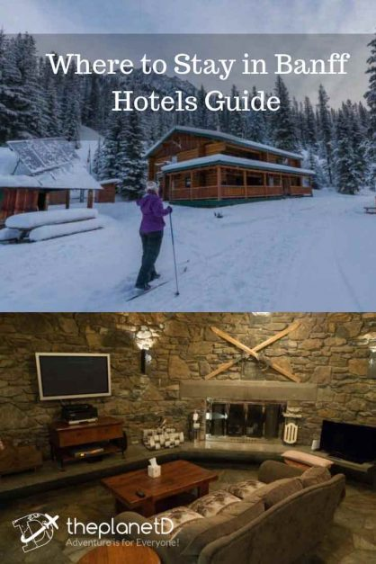 where to stay in Banff | Best Banff Lodges and Hotels