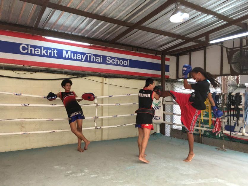 best area to stay in Bangkok Sukhumvit Muay Thai