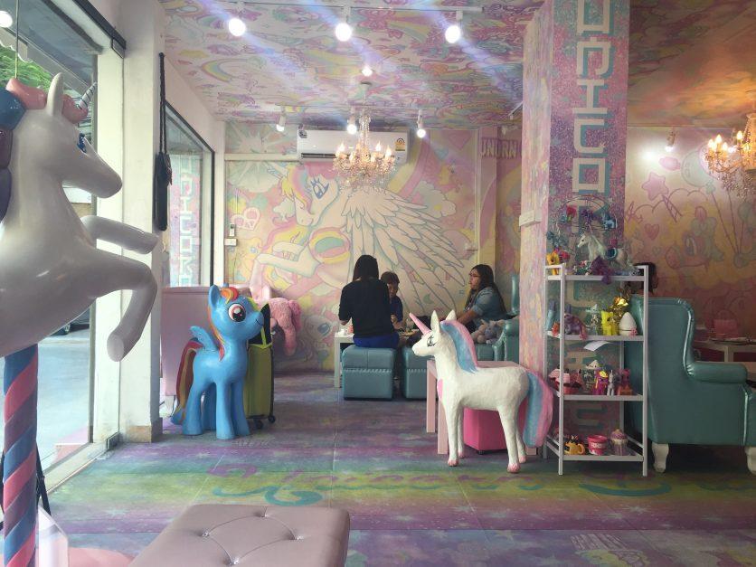 Le café de la Licorne à Bangkok