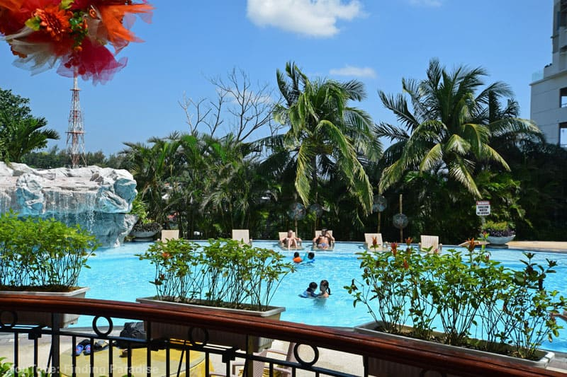 where to stay in cebu philippines marco polo pool