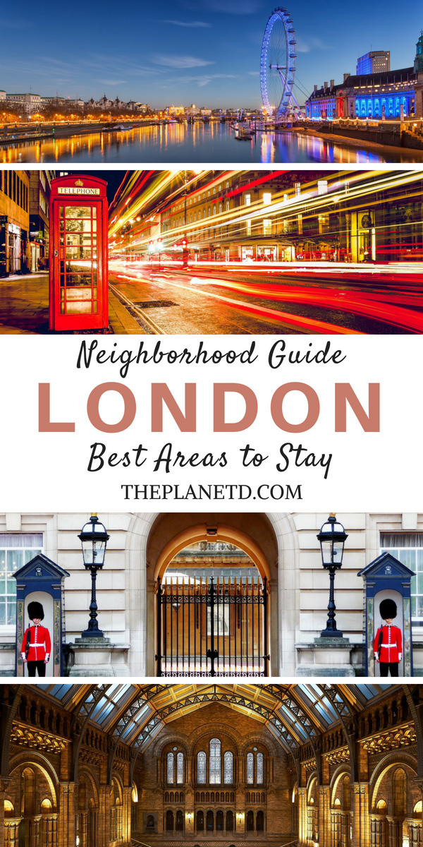 Where to stay in London best areas
