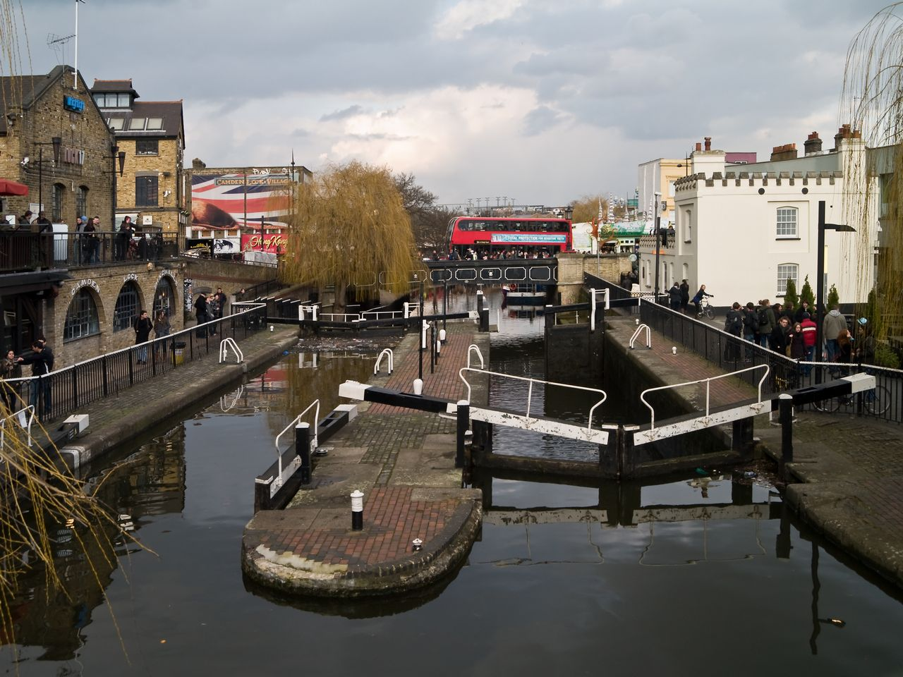 Where to stay in London Best Area Camden Lock