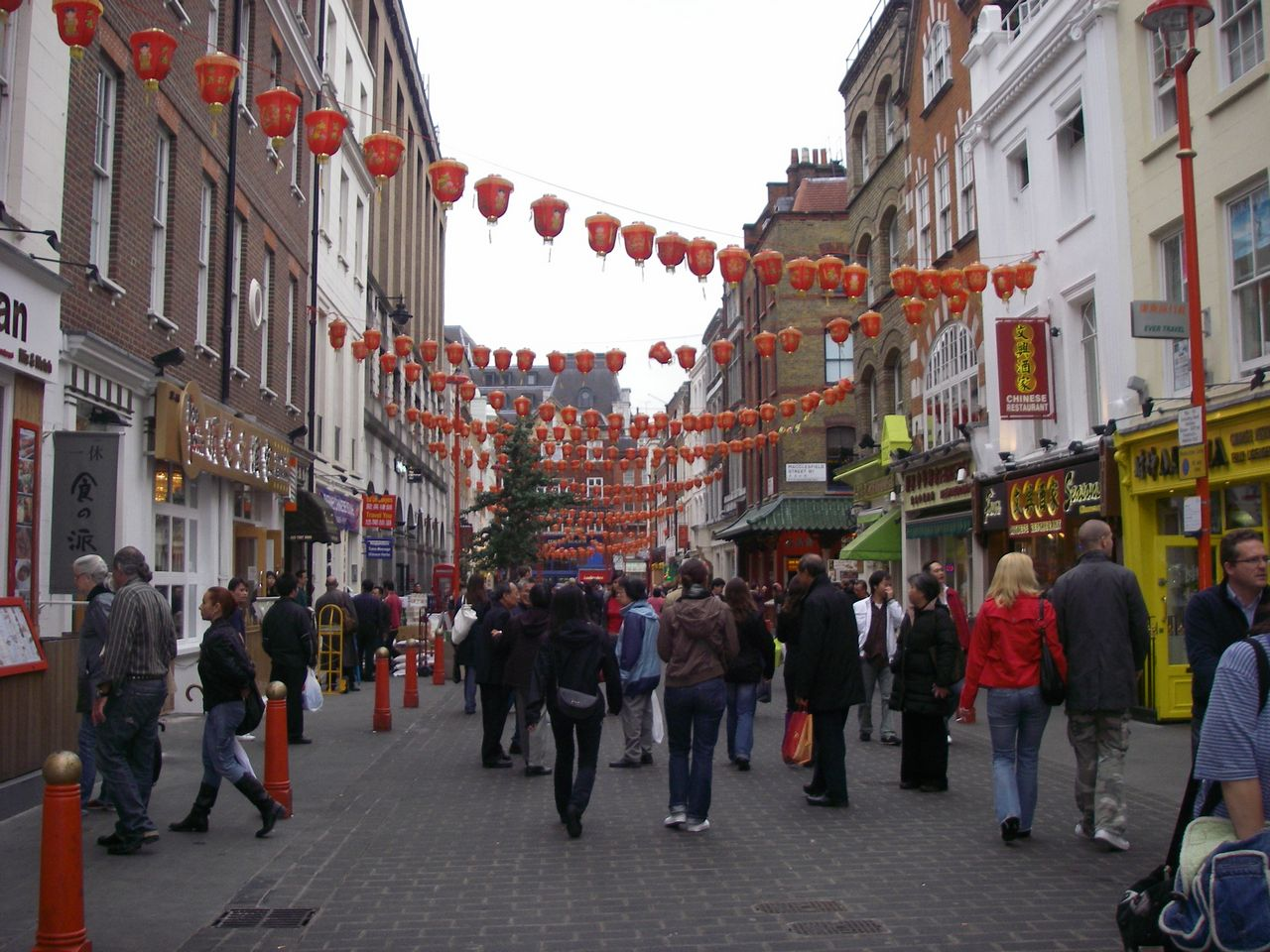 Where to stay in London Chinatown