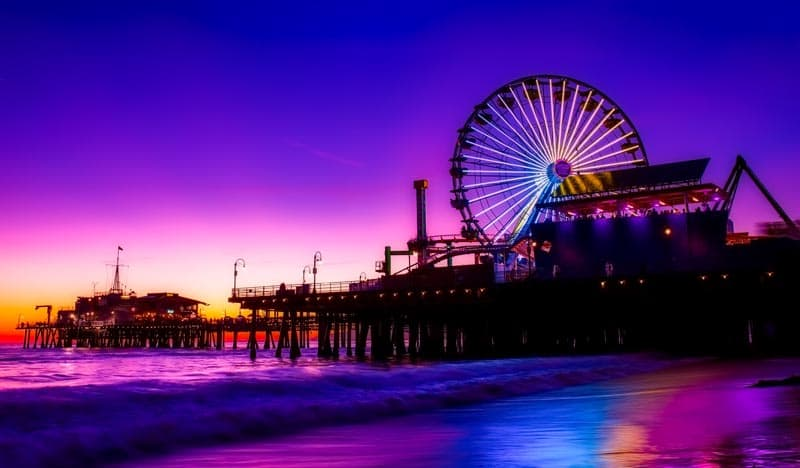 where to stay in los angeles santa monica