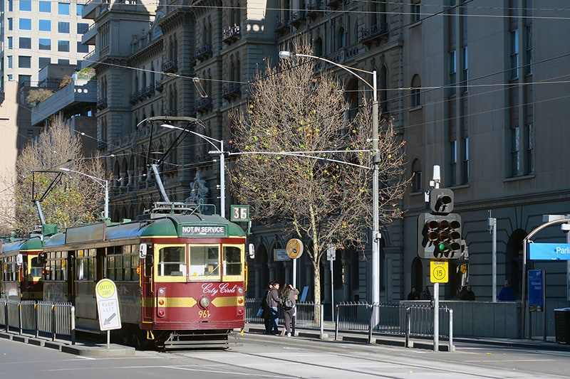 melbourne travel tips city tram
